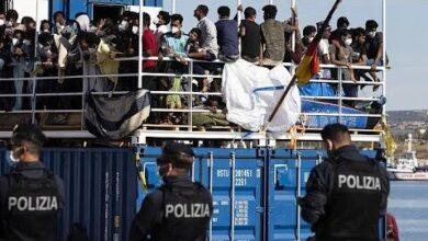 Migrantes Nao Param De Chegar A Lampedusa W69Dptg Tw0 Image