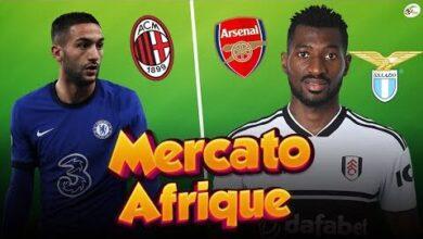 Milan Ac Saffirme Pour Ziyech Arsenal Et La Lazio Sactivent Pour Zambo Anguissa Ky19Notfzdg Image