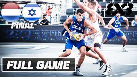Netherlands Vs Israel Mens Final Full Game U23 Nations League 2021 Europe America Stop 2