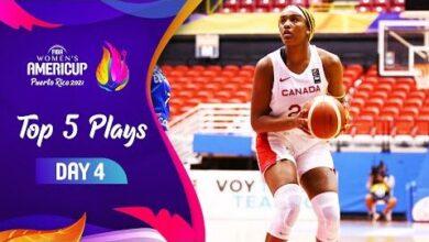 Nike Top 5 Plays Gameday 4 Fiba Womens Americup 2021 Ohkh Tqoa U Image