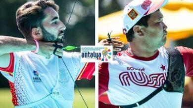 Pablo Acha V Galsan Bazarzhapov Recurve Men Gold Antalya 2021 European Archery Championships B6Zb5Dvxjf0 Image