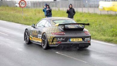 Porsche 9912 Gt3 Accelerations Revs Launch Control A F98Cqr3Ek Image