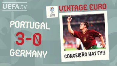 Portugal 3 0 Germany Euro 2000 Vintage Euro Qrpr 3Pjdzi Image