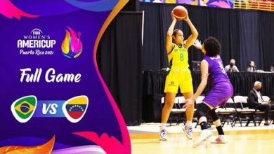 Quarter Finals Brazil V Venezuela Full Game Fiba Womens Americup 2021 Obr3 9Xm Y4 Image