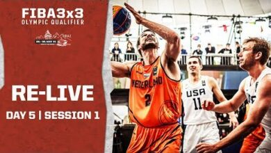 Re Live Fiba 3X3 Olympic Qualifying Tournament 2021 Day 5 Session 1 P6X9Pih1Pzm Image