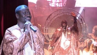 Regardez Lentree Majestueuse De Alassane Mbaye Griot Vip Au Grand Theatre Zltmktxfz6Y Image