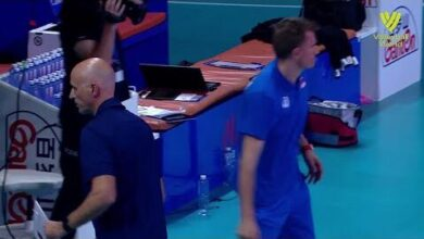 Russia Vs Usa Fivb Volleyball Nations League Men Match Highlights 03 06 2021 Veaibrwg2Tk Image