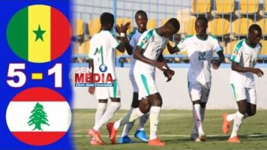 Samba Lele Diba Et Les U20 Ecrasent Liban Avec Bonne Prestation Y4Ju7Ihjcfc Image