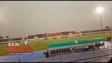 Senegal 3 0 Zambie Ismaila Sarr En Feu Lequipe Tient Bon Malgre Lagressivite Des Zamboens H5Dp9Qjzp C Image