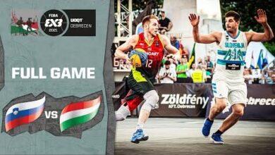 Slovenia V Hungary Mens Full Game Fiba 3X3 Universality Olympic Qualifying Tournament M Xrccw Y6G Image