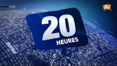 Suivez Le Journal 20H Avec Cheikh Diaby Mercredi 08 Juin 2021 Yed9B6Srce Image