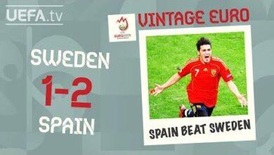 Sweden 1 2 Spain Euro 2008 Vintage Euro 4Hx17L5Jfw Image