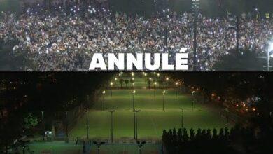 Tiananmen Le Parc Victoria Vide Pour La Premiere Fois En 32 Ans Fcgwjmfy2Oa Image