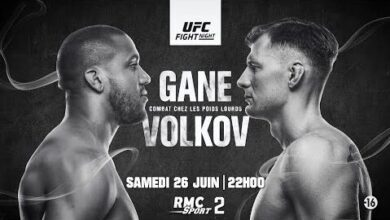 Ufc Fight Night Gane Vs Volkov Le 26 Juin Sur Rmc Sport 2 Jyvq1Nxj Hi Image