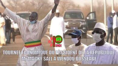 Un Accueil Chaleureux Du Premier Questeur Daouda Dia Au President Macky Sall A Wendou Bosseabe Zj2Dp1Yngvi Image
