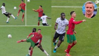 Un Idiot Cristiano Ronaldo Prend Tres Cher Apres Son Coup Declat Sur Rudiger 8P6Qssugwzq Image
