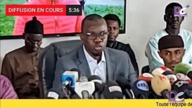 Urgent Ousmane Sonko En Conference De Presse Ek1Iwhfv69I Image