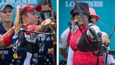 Usa V Mexico Recurve Womens Team Gold Final Olympic Qualifier 2021 3Htmiq1Voq4 Image