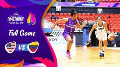 Usa V Venezuela Full Game Fiba Womens Americup 2021 Dzeouuvlp74 Image