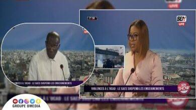 Violences A Lucad Professeur Malick Ndiaye Creuse Le Mal J5Vn Es7Ebe Image