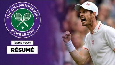 Wimbledon Andy Murray Remporte Un Marathon De 4 Heures Apres Avoir Ete Mene 65Pk721H4Ia Image