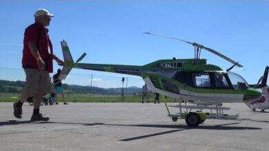 Xxl Bell 206B3 Jetranger Scale Turbine Rc Helicopter Ofgv Mn7Yxo Image