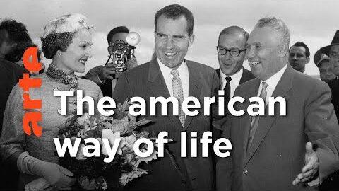1959 Nixon Khrouchtchev A Moscou Mysteres Darchives Arte Ijewhnt0Gjw Image