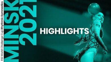 2021 Minsk Rhythmic Gymnastics World Challenge Cup Highlights 5Dc6Wd5Dkhu Image