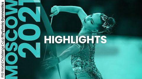 2021 Moscow Rhythmic Gymnastics World Challenge Cup Highlights Ijzdbjlmoog Image
