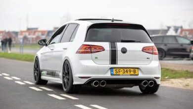 500Hp Tvs Volkswagen Golf 7 R Loud Accelerations Launch Control Sound Crackles Fu8I4W5Hf W Image