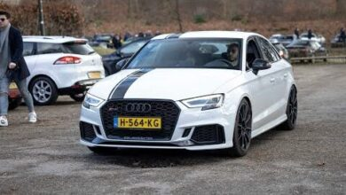 520Hp Stage 2 Audi Rs3 8V Sedan With Dbm Downpipe Loud Accelerations Revs Pops And Bangs Hmjvpqiaujm Image