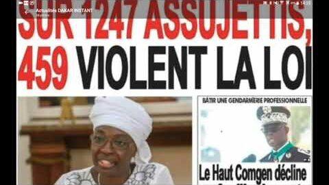 Actualites Trafic Sexuel Sur Laxe Dakar Bissau Abdou Bara Doli Met En Garde Pape Diop