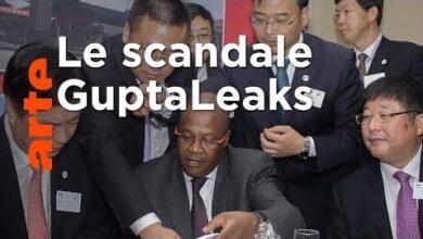 Afrique Du Sud Corruption Au Sommet De Letat Arte 4G Eqq1Vsuq Image