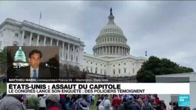 Assaut Du Capitole Ouverture De Lenquete Parlementaire Des Debats Houleux Au Congres Bsagjtj3Lzk Image