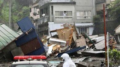 Au Moins Deux Morts Dans Une Gigantesque Coulee De Boue Au Japon Ltlx9Vzpok8 Image