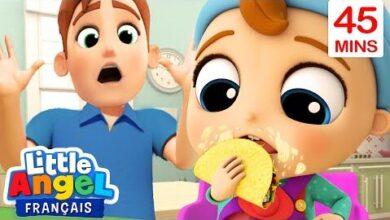 Bebe Mange Des Tacos Comme Un Grand Comptines Pour Enfants Little Angel Francais T0 Ovkbkqgc Image