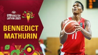 Bennedict Mathurin Is An All Round Player Best Plays In The Group Stage Fiba U19 World Cup Lfglmmpp2Ku Image