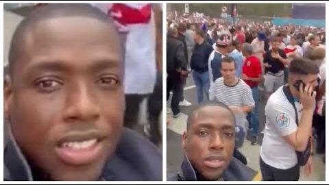 Birane Ndour Dg Gfm A Wembley Pour Assister A La Finale De Leuro