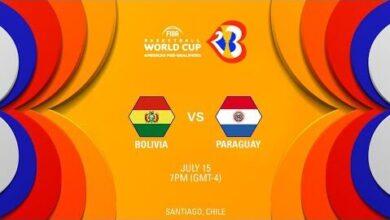 Bolivia V Paraguay Full Game Fiba World Cup 2023 Americas Pre Qualifiers 3Mfm Xdmv7U Image