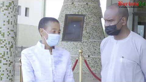 Burkina Faso La Coordinatrice Residente Du Systeme Des Nations Unies Fait Ses Adieux Ivp3O9Z212A Image