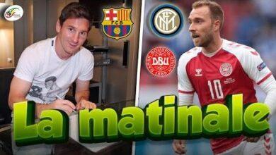Ca Se Complique Pour Le Barca Avec Messi Eriksen Annonce Une Importante Decision Matinale Tuxi1Jan A Image