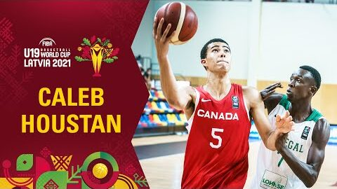 Caleb Houstan Shines For Canada Best Plays In The Group Stage Fiba U19 World Cup Lq5C1Kvocoi Image