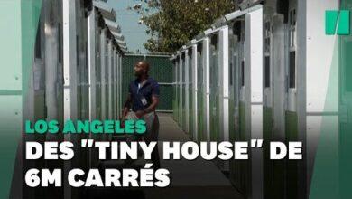 Ces Mini Maisons Permettent De Loger Les Sans Abris De Los Angeles 7G6B1Pnmz6W Image