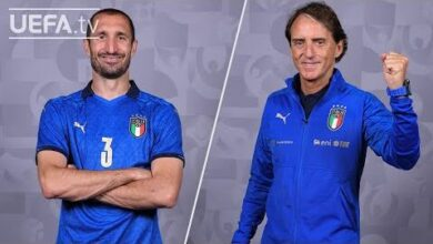 Chiellini Mancini Euro 2020 Final Italy On The Spot Nqqq6Lnhc3U Image