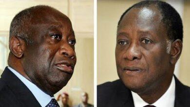 Cote Divoire Le President Ouattara Recoit Laurent Gbagbo 10 Ans Apres La Crise Post El C Okq8Snsc Image