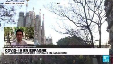 Covid 19 En Espagne Situation Critique Des Hopitaux En Catalogne O France 24 T4Li6Upjsoe Image
