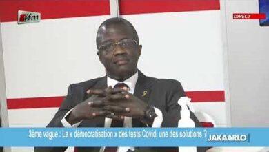 Covid 19 Et Test De Diagnostic Rapide Dr Malick Diop Dit Tout Vs5Ucb6Ztze Image