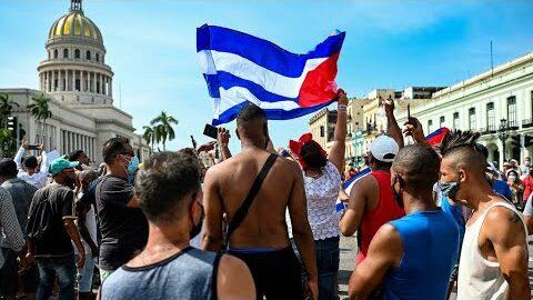 Cuba Confrontee A Des Manifestations Historiques Accuse Washington O France 24 0Wkgp8Ejdye Image