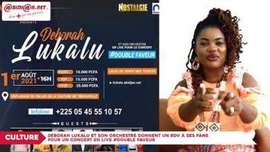 Deborah Lukalu Et Son Orchestre Donnent Un Rdv Pour Un Concert En Live Double Faveur Rk0Aggdc5Zw Image