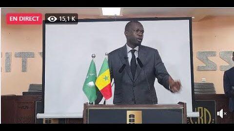 Declaration De Presse Du President Ousmane Sonko A8Ciictf2Yg Image